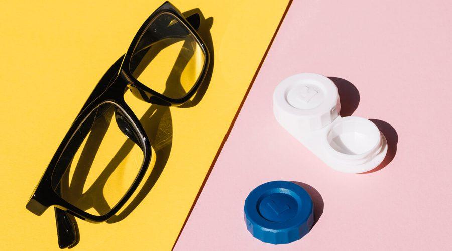 眼鏡和隱形眼鏡